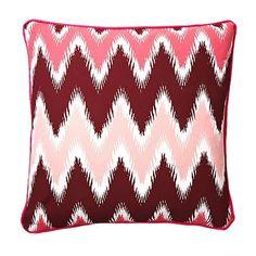 Chevron Pillow.
