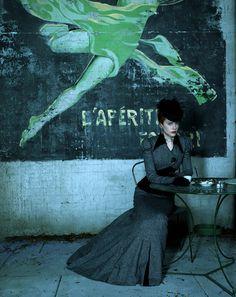 Nicole Kidman - Moulin Rouge portrait by Hugh Stewart
