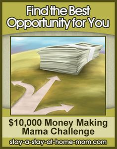 http://www.stay-a-stay-at-home-mom.com/best-home-based-business.html How to Find the Best WAHM Opportunity for You - Money Making Mama Challenge