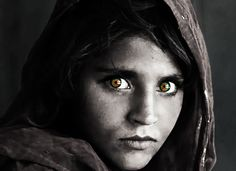 Photo by Steve McCurry (National Geographic).  Edit by Mariah Gregory.