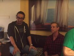"""Lin-Manuel Miranda and the cast of Hamilton have celebrated the 20th anniversary of Rent throughout this year, and on Saturday night Miranda honored the musical again -- this time with help from original cast member Adam Pascal. For the latest #Ham4Ham video, Miranda, Pascal, original Rent guitarist Kenny Brescia, and Hamilton musical director Alex Lacamoire performed """"What You Own"""" from the show."""