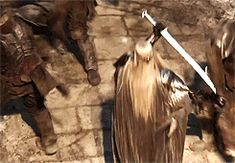 (gif)  Thranduil in action - REAL ONE HERE COME THE HEART PAPELTATIONS