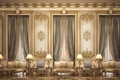 Enhance Your Senses With Luxury Home Decor Master Bedroom Interior, Hall Interior, Mansion Interior, Luxury Homes Interior, Luxury Home Decor, Home Interior Design, Palace Interior, Classic Interior, Modern Interior