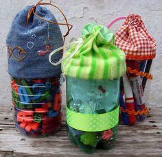 """""""Criações e Ideias Siglea e Amigas"""": Reciclagem com garrafa pet."""