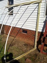 reconnect farm: Your Own DIY Lean-To Greenhouse #greenhousefarm #greenhousefarming