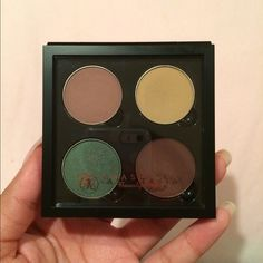 ABH eyeshadow singles Not used, just swatched. Bought on ulta website for $40 ($10 a shadow). Top left: dusty rose Top right: custard Bottom left: emerald Bottom right: deep plum Anastasia Beverly Hills Makeup Eyeshadow