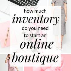 How to Start an Online Clothing Boutique Boutique Names, Kids Boutique, Small Boutique Ideas, Hope Boutique, Mobile Boutique, Starting An Online Boutique, Business Inspiration, Business Ideas, Business Money