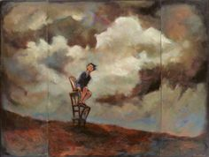 Woman on Chairs (triptych)