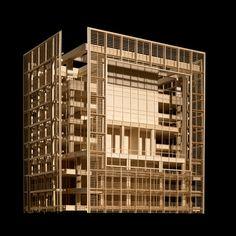 Rothschild Tower, Tel Aviv | Richard Meier's Model Museum, Long Island City
