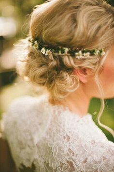 Prachtig bruidskapsel