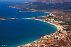 La costa oeste de San Carlos, Sonora