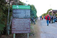 placa posto marcao parque nacional itatiaia a bussola quebrada