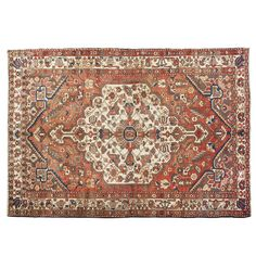 "9'8"" x 6'8"".Vintage Persian rug, Traditional area rug for sale, Oriental floor carpet, Medallion floral design, Floral design, Hand knotted, area rug, Vintage wool rug, Code : S0101287"