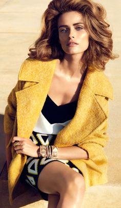 Yellow Coat ♥ Edita Vilkeviciute