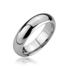 5mm Comfort Fit Unisex Tungsten Wedding Band Ring  www.diamondshoppejewelers.com