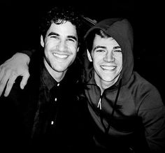 Darren & Grant Gustin... my two babies together... O.M.G.