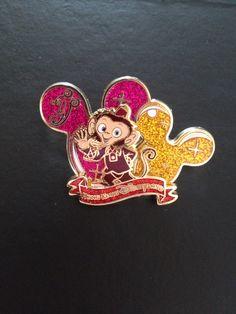 Albert pin. Mystic Manor ride Disneyland Hong Kong.