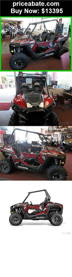 "Power-Sports-ATVs-UTVs: New 2015 Polaris RZR900 RZR 900 50"" EPS Trail Sunset Red UTV sxs OTD Price - BUY IT NOW ONLY $13395"