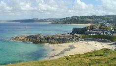 Enjoy the St. Ives Feast and Hurling the Silver Ball this February in Cornwall.