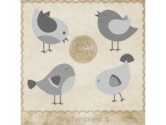 Bird Templates 3 by Josy Carson