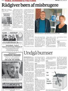 1. Oktober 2013 - Hobro Avis bringer Danish Skin Cares guide til korrekt pleje af huden
