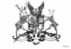 www.facebook.com/alexgabrielledesigns  Producing the finest detail in symbolic family crests commissioned by you. Buy something special this Christmas.