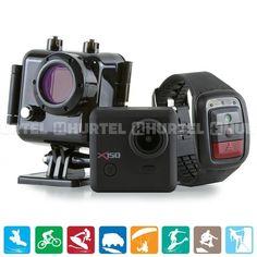 Kaiser Baas X150 Pro-Action - Kamera sportowa Full HD 2.7K + LCD + Wi-Fi