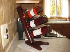 Image result for contemporary curved wine rack