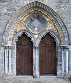 double cathedral doors