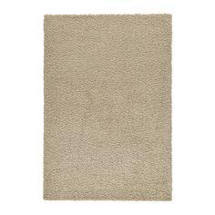 HAMPEN Szőnyeg, hosszú szálú IKEA A szintetikus rostokból készült szőnyeg strapabíró, foltálló és könnyen tisztítható.