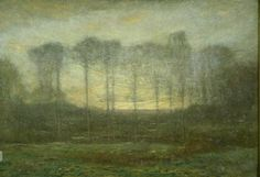 Dwight William Tryon (United States, 1849-1925). Twilight, 1905. The University of Michigan Museum of Art, Michigan. Bequest of Margaret Watson Parker, 1955. http://www.umma.umich.edu