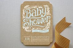 Baby Shower Invitations | Minted