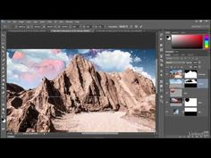 Adobe Photoshop CC 2015 Tutorial | 097 Adding clouds to your composition