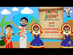 Save the Date (Amritha and Rohit) - YouTube