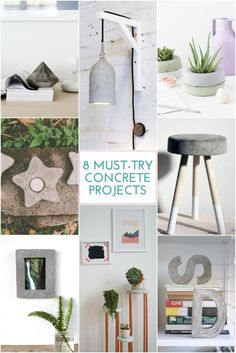 8 Must-Try Concrete Projects