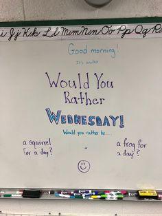 45 smart classroom ideas from real life teachers 24 ~ Litledress Future Classroom, School Classroom, Classroom Activities, Classroom Ideas, Classroom Whiteboard Organization, Morning Activities, Bell Work, Responsive Classroom, Leadership