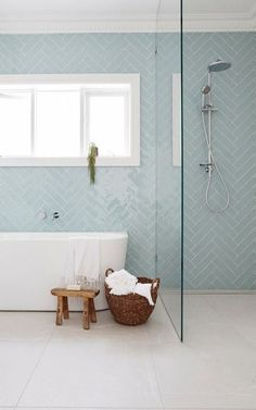 Desire your shower is even more than simply there for feature! See wonderful bathroom shower remodel ideas from property owners that have actually effectively tackled this prominent task. Pastel Bathroom, Small Bathroom, Ikea Bathroom, Family Bathroom, Bathroom Kids, Bad Inspiration, Bathroom Inspiration, Regal Bad, Childrens Bathroom
