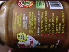 "For any parent that has a child with a peanut or tree nut allergy, check this out. This (called Wow Butter) product is 100% peanut/tree nut free. Plus, it is not made in a facility with peanuts or tree nuts, so there is no risk of ""cross contamination. It is made from soy, and, the best part, IT TASTES EXACTLY LIKE PEANUT BUTTER!! Now your kid doesn't have to miss out on a childhood staple: the PB and J sandwich. I can vouch for it, too, because I'm eating a PB and J with it right now.  :)"