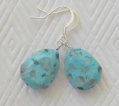 Chunky Turquoise Earrings