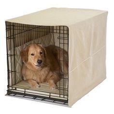 """Pet Dreams Classic Cratewear 3 Piece Crate Dog Bedding Set Size: X-Large: 28"""" W x 42"""" D, Color: Denim"""