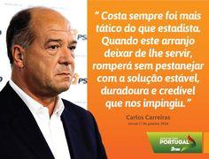 A opinião de Carlos Carreiras, Vice-Presidente do PSD, hoje no Jornal I.