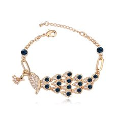 Charm Peacock Bracelets