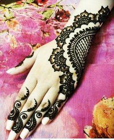 Elegant Mehndi Henna