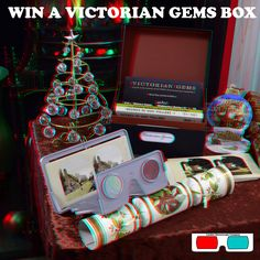 The Victorian Gems Signed By Brian May - 3D Anaglyph Photography.