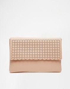 ASOS Punchout Clutch Bag