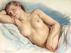 Liggend naakt 1935