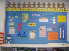 Kindergarten Math Words  ... they sure learn alot!
