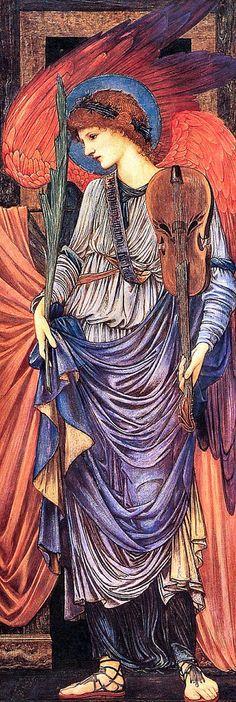 Musical AngelsEdward Burne-Jones