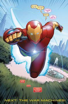 Invincible Iron Man (2015) - January 2016