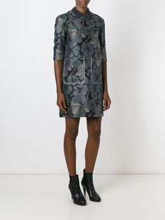 Floral Print Dress by Marni #fashion #print
